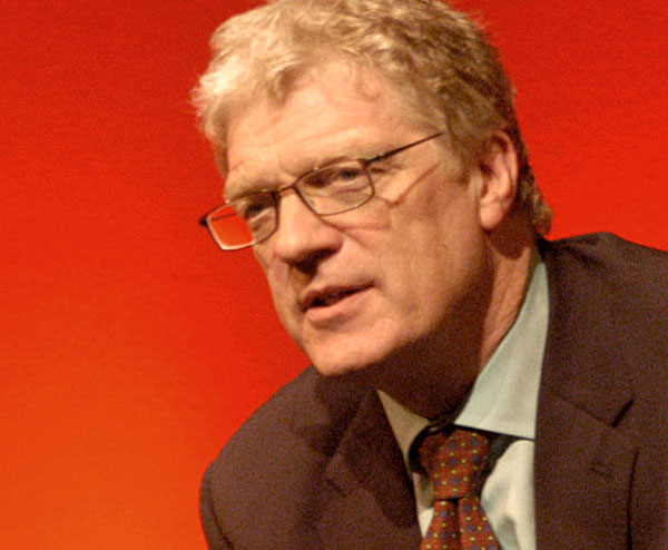 This is Sir Ken Robinson.